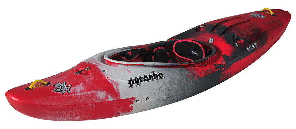 Pyranha Shiva Red White Grey